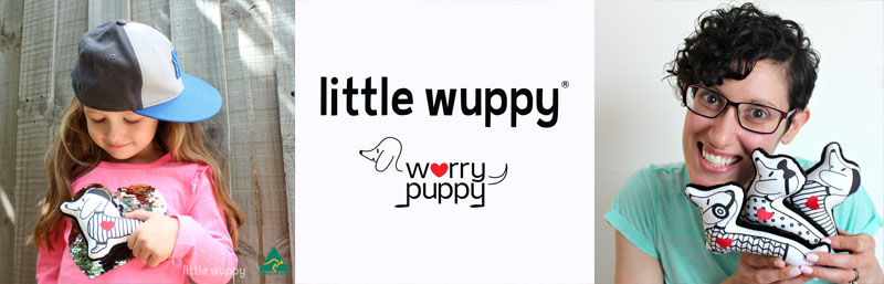 little wuppy® plush aid for anxiety