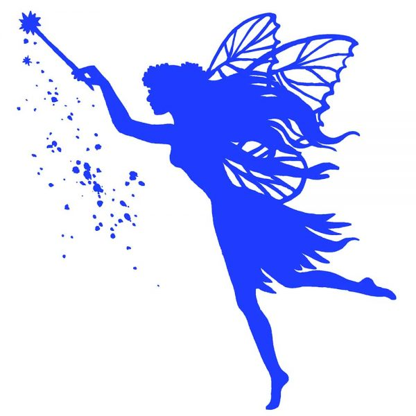 Fairy solid blue