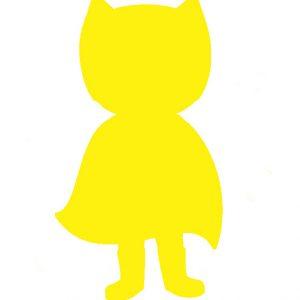Superhero yellow