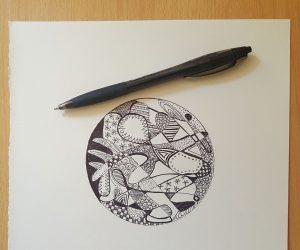 scribble Mandala