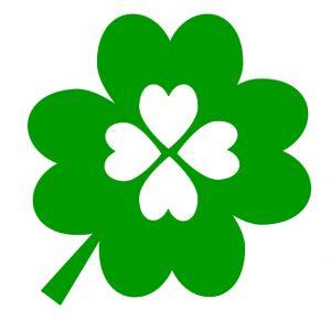four leaf clover green