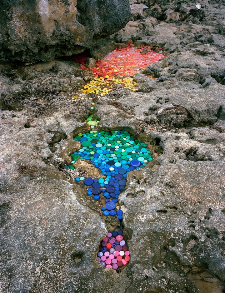 Marine Plastic artwork